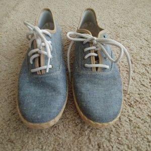 Keds denim shoes